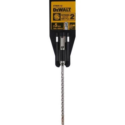 Foret béton SDS-PLUS EXTREME2 - Ø 5mm - L 160 mm - DEWALT   DT9505