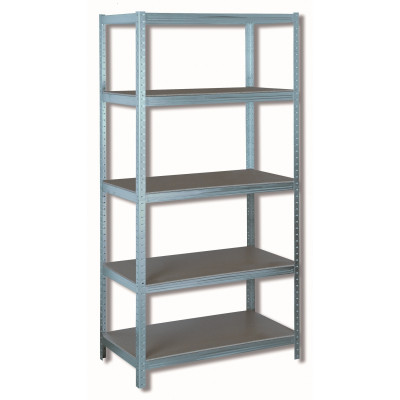 Etagères de 5 étages - 1,2 mm - bois charge lourde jusqu'à 1250 kg - Sodise | 09063