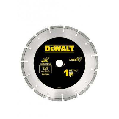 Disque diamant segmenté 125mm pour matériaux de construction/béton DEWALT | DT3741