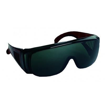 Surlunette de sécurité - VISILUX T Monture polycarbonate - Oculaire teinté - LUX OPTICAL | 60403